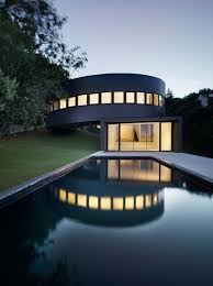 Futuristic Architectural Design House On A Plot Of Sloping Land ... Futuristichomedesign Interior Design Ideas Architecture Futuristic Home With Large Glass Wall Stunning Images Decorating Wonderful For Inspiring Your Modern House Adorable Inspiration Hd Pictures Mariapngt Ultra Homes Best Houses In The World Amazing Kloof Road Pinteres Future Studio Dea Designs 5 Balcony Villa In Vienna Roof Touch California Ranch Style
