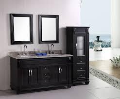 Bathroom Mirror Cabinets Menards by Superb Single Porcelain Sink For Black Bathroom Vanity Design With