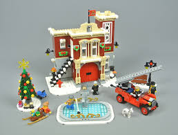 Review: 10263 Winter Village Fire Station | Brickset: LEGO Set Guide ...