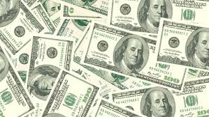 Money Background Dollars Bills Banknotes 10 20 100 500 US