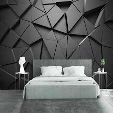 moderne kreative 3d geometrische abstrakte grau dreieck
