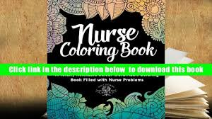 Read Online Nurse Coloring Book Sweary Midnight Edition