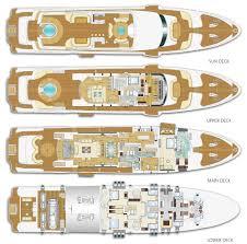 Images Deck Plans by Majesty 155 Superyacht Deck Plans Mega Yacht Deck Plans Dubai