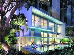 Attractive Minimalist Apartment Design Building