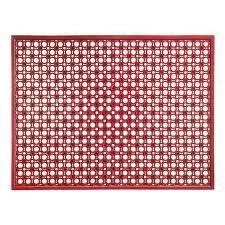 tapis de porte d entrée en caoutchouc paillasson libby 62