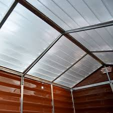 6 X 5 Apex Shed by Palram Skylight Apex Shed 6x5