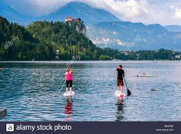 100 Where Is Slovenia Located Lake Bled Located In Bled 27 July 2014 Stock