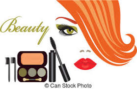 Makeup clipart vector 2