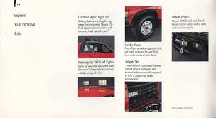 100 1991 Nissan Truck S Genuine Accessories Brochure NICOclub