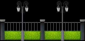 Halloween Graveyard Fence Decoration by Gate Fence Clipart Home U0026 Gardens Geek