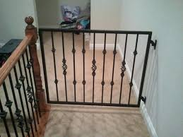 Baby Gates For Top Of Stairs With Banisters – Carkajans.com Baby Gate For Stairs With Banister Ipirations Best Gates How To Install On Stairway Railing Banisters Without Model Staircase Ideas Bottom Of House Exterior And Interior Keep A Diy Chris Loves Julia Baby Gates For Top Of Stairs With Banisters Carkajanscom Top Latest Door Stair Design Wooden Rs Floral The Retractable Gate Regalo 2642 Or Walls Cardinal Special Child Safety Walmartcom Designs