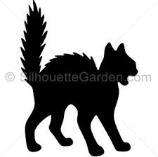 cat silhouette cat silhouette