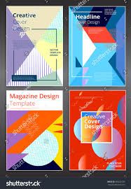 Creative Brochure Covers Vector Flyer Design Template Eps 10 Leaflet Cover Presentation Abstract Geometric