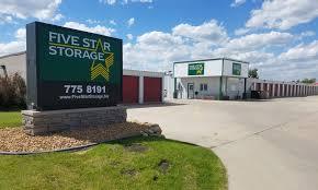 Five Star Storage Provides Clean Storage Units
