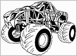 100 Mohawk Warrior Monster Truck Grave Digger Coloring Pages Elegant