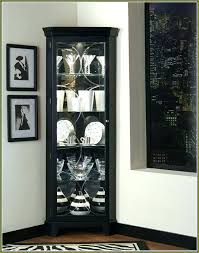Tall Dining Room Cabinet Corner China Black Ideas Hutch Table