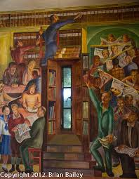 Coit Tower Murals Images by San Francisco Landmark Coit Tower And Murals