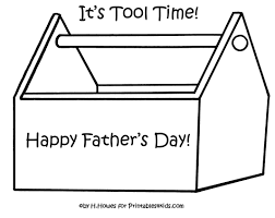 Print And Color Toolbox For Fathers Day Gift Or Card Printables Kids Free Word Search Puzzles Coloring Pages Other Activities