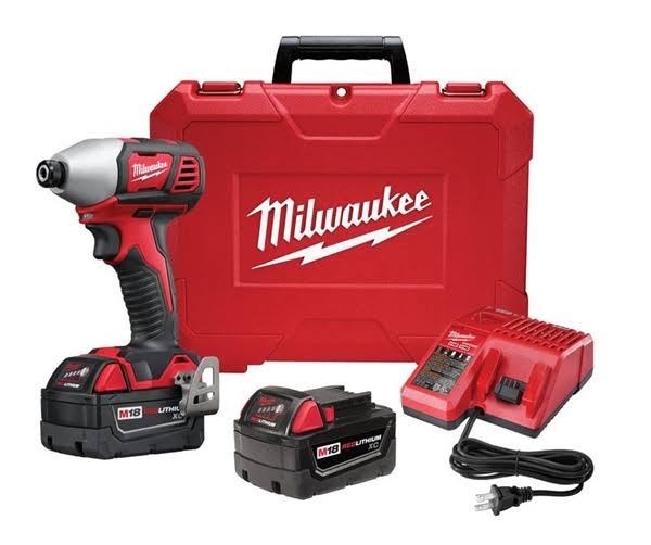 Milwaukee M18 18-Volt Lithium-Ion Cordless 2-Speed Impact Driver