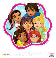 Dora The Explorer And Friends Favor Bags