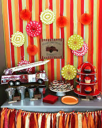 100 Fire Truck Birthday Party Vintage Ideas Photo 1 Of 22