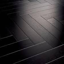 Black Wood Flooring Home Decor Parquet Floor