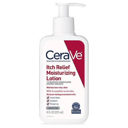 Cerave Itch Relief Moisturizing Lotion - for Dry and Itchy Skin, 8oz
