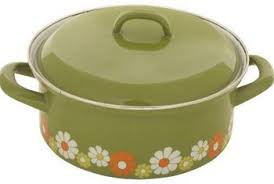 Along With Harvest Gold Avocado Green Was A Featured Color In 1970s Kitchens