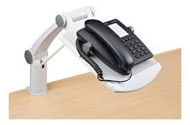support telephone bureau support téléphone à bras extensible maxiburo