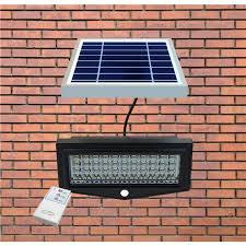 projecteur solaire avec détection de mouvement security light