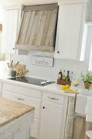 White Countertops Design D Cor Kitchens Custom Reclaimed Wood Vent Hood