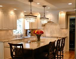 pendant kitchen lights island tile countertop with 4 bar