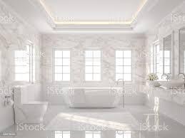 weiße luxus badezimmer 3d render stockfoto und mehr bilder architektur