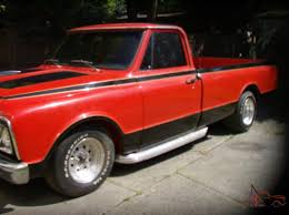 68 Chevrolet Pick-Up = Custom Street Rod,Low Miles,One Owner,One Of ...