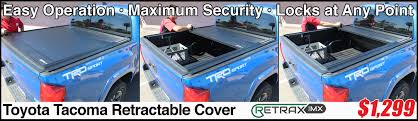 RetraxONE MX Retractable Truck Bed Cover In Tucson Arizona - Max ... Oedro Trifold Truck Bed Tonneau Cover Compatible 62018 Toyota Tacoma Extang Encore Access Plus Great Gator Soft Trifold Dna Motoring For 0717 8 Vinyl Folding On Red Diamondback Bak Industries Fibermax Tonneau Cover Installed This Beautiful Undcover Flex Hard 891996 Slant Side Sst 206050 Bakflip Mx4 448427 2016 Lund Genesis 2005 To 2014 Cover95085 Covers G2 Autoeqca Cadian