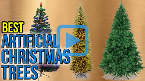 White Artificial Christmas Trees Walmart by Top 10 Artificial Christmas Trees Of 2017 Video Review