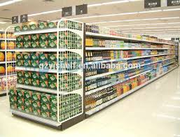 Store Wall Display Shopping Mall Start Bay Supermarket Ideas For Lay Canned Food