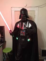 Best Halloween Voice Changer by Darth Vader Costume With Voice Changer And Sound Effects 20 Steps