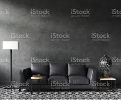 Home Interior Pics Home Interior Mockup Mit Sofa Und Dekor Schwarz Stilvolle Loft Wohnzimmer Stockfoto Und Mehr Bilder Behaglich