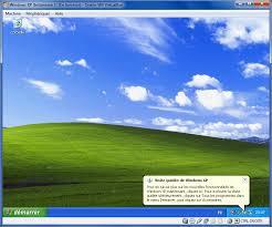 bureau windows virtualbox bureau de windows xp