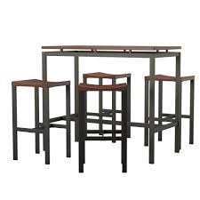 Mcgonigal 5 Piece Bar Height Dining Set