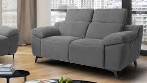 canapé relax 2 places électrique canapé relax électrique inclinable 2 places design faro gdegdesign