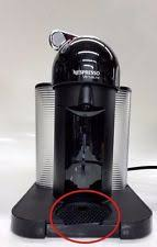Item 7 Nespresso VertuoLine Coffee And Espresso Maker Black Missing Water Tray M01
