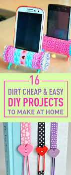 Dirt Cheap Easy Projects To Make At Home Homemade Crafts A Face La Craft Ideas For Mothers Day Making Sell