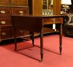 details zu englische möbel antik regency esstisch klapptisch esszimmer mahagoni uk