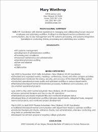 Hr Coordinator Resume Examples Joselinohouse From College Recruiting Sample Image Source Josemulinohouseco