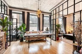 100 Cast Of Glass House 18M Chelsea Loft Is Industrial Meets Countrychic With Tin