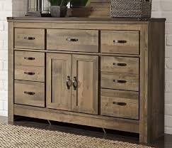 Rustic Casual Contemporary 6 Piece King Bedroom Set Trinell