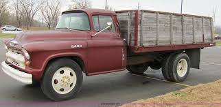 100 55 Chevy Trucks For Sale 19 Chevrolet 6400 Grain Truck Item 2308 SOLD December