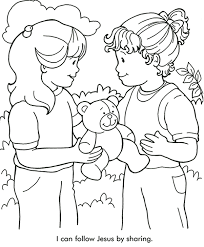 Epic Sharing Coloring Page 88 In Free Coloring Kids with Sharing